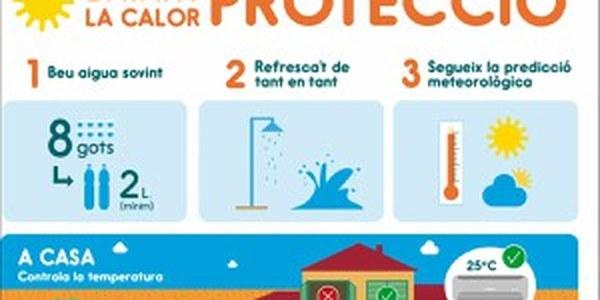Consells de Protecció Civil davant els riscos d'estiu