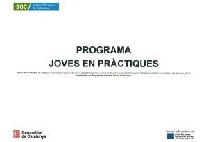 Programa contractació de joves en pràctiques 2019