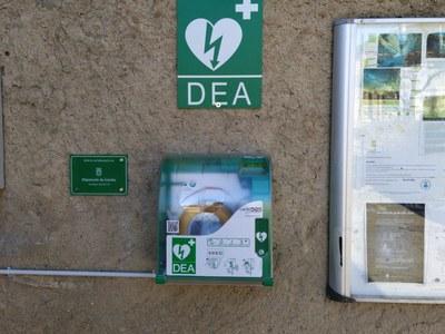 Desfibril·lador extern automàtic (DEA) al municipi