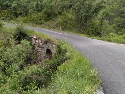 Obres d'ampliació del pont del Barranc de la Mulla