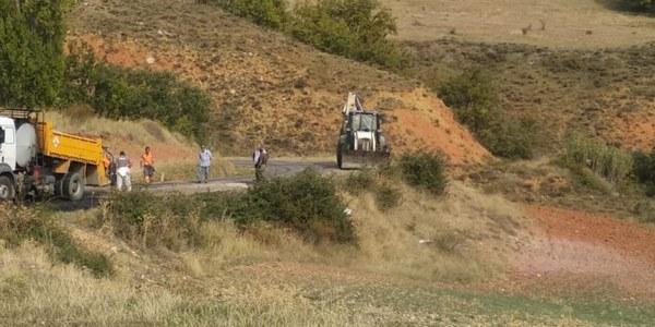 Obres d'arranjament de camins del municipi