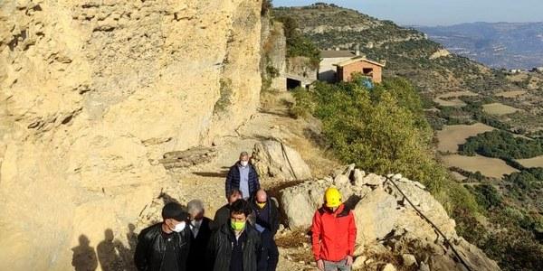 Visita del Conseller de Territori i Sostenibilitat al municipi